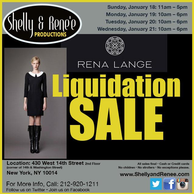 Rena Lange Liquidation Sale