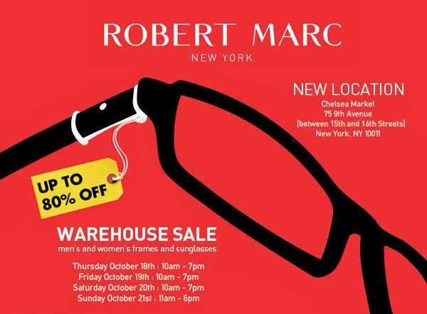 Robert Marc Warehouse Sale