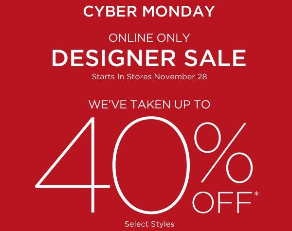 Saks Fifth Avenue Cyber Monday Sale
