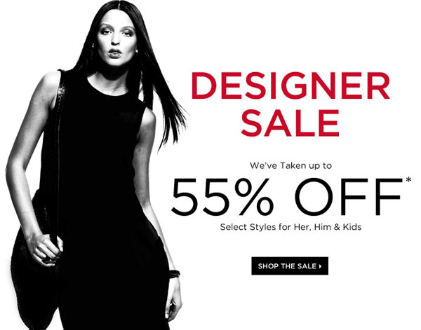 Saks Fifth Avenue Designer Retail Sale