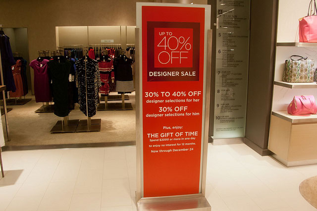 There is a truly fabulous Designer Sale underway at Saks Fifth Avenue this week
