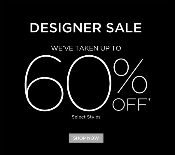 Saks Fifth Avenue Designer Sale