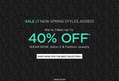 Saks Online Spring Sale