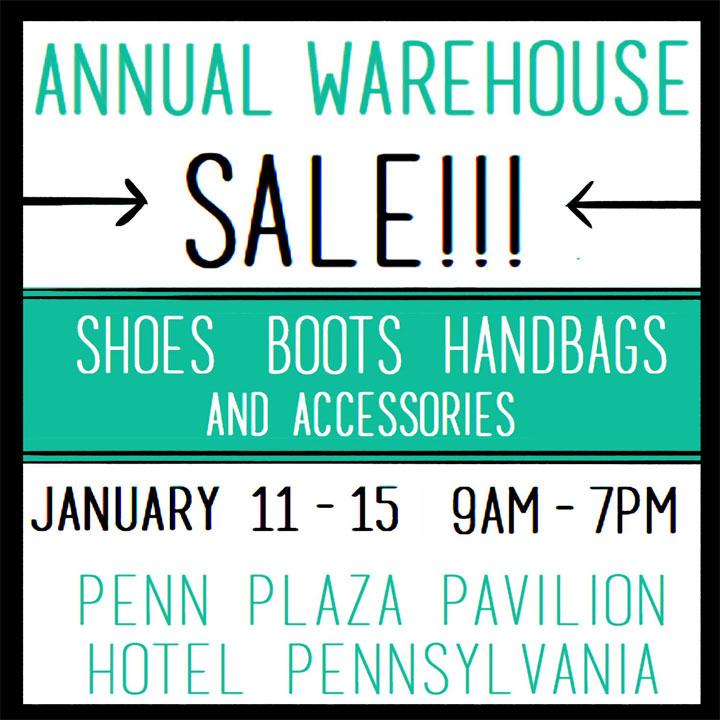 Shoe-Inn Annual Warehouse Sale