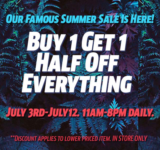 Shoe Market Buy One, Get One Half Off Sale