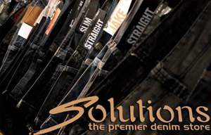 Solutions Denim Clothing Sale