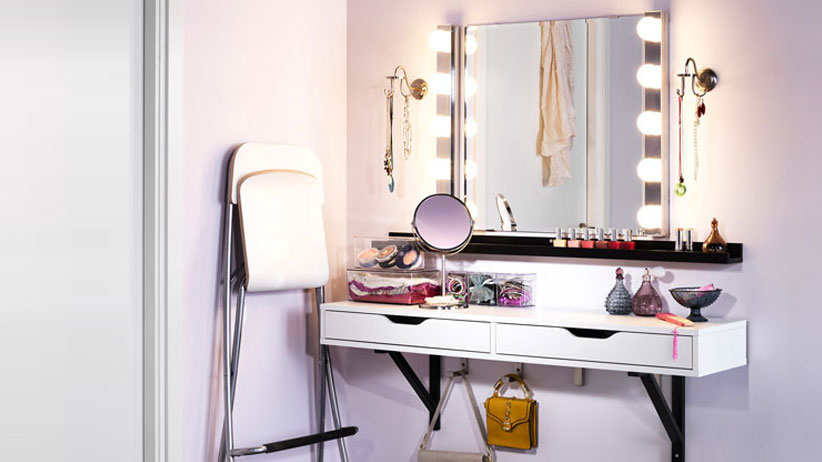 7 Space-Saving Beauty Battle Stations You Can Fit in Your NYC Apartment
