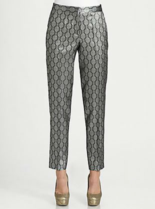 Stella McCartney Silk Brocade Pants
