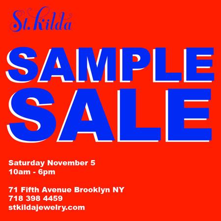 St. Kilda Sample Sale