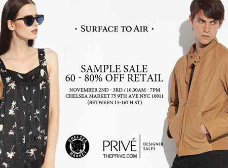 Surface to Air Sample Sale