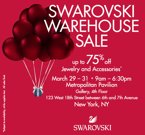 Swarovski Sample Sale