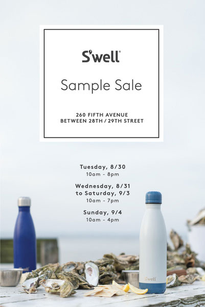 S'well Sample Sale
