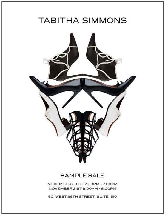 Tabitha Simmons Annual Sample Sale