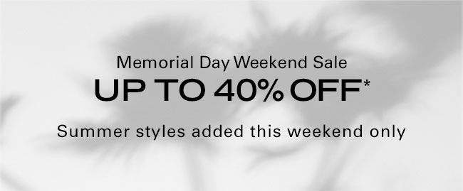 Theory Memorial Day Weekend Sale