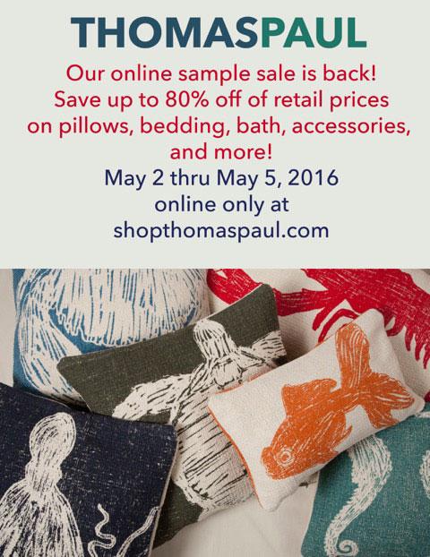 thomaspaul Online Sample Sale