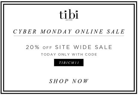 Tibi Cyber Monday Online Sale
