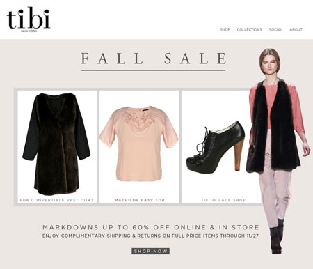 Tibi Fall Sale