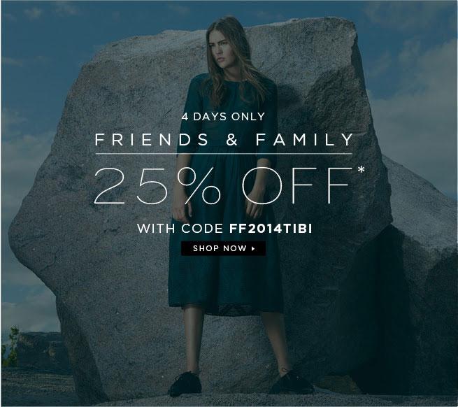 Tibi Friends & Family Sale