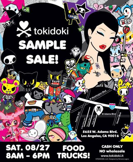 Tokidoki Sample Sale