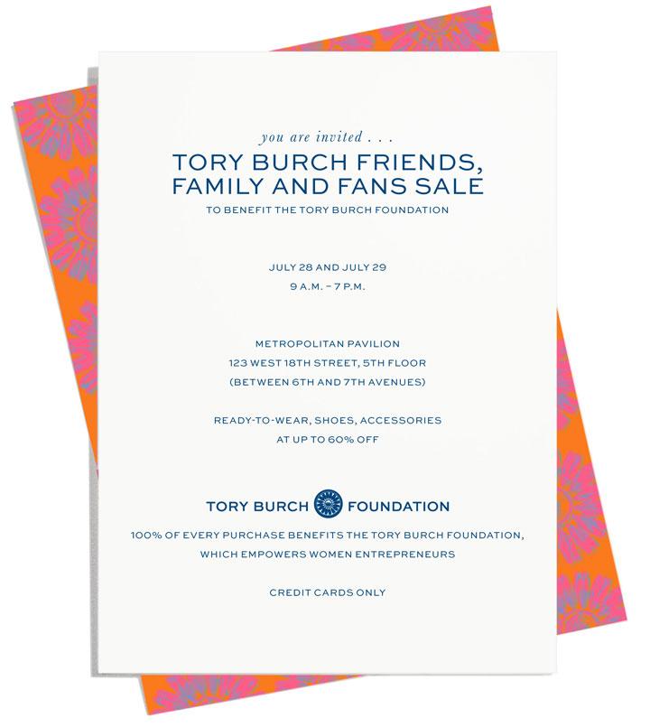 Tory Burch Warehouse Sale