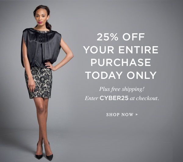 Tracy Reese Cyber Monday Sale