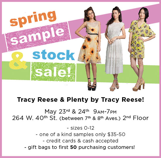 Tracy Reese Sample Sale