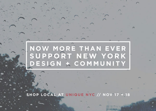 UNIQUE NYC Holiday Event