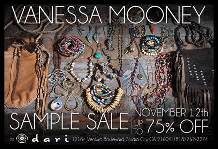 Vanessa Mooney Sample Sale