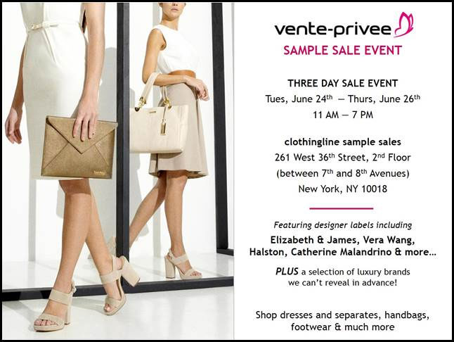 vente-privee Sample Sale
