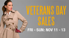 Woodbury Common Premium Outlets Veteran's Day Sale