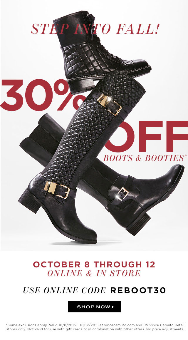 Vince Camuto Boots & Booties Sale
