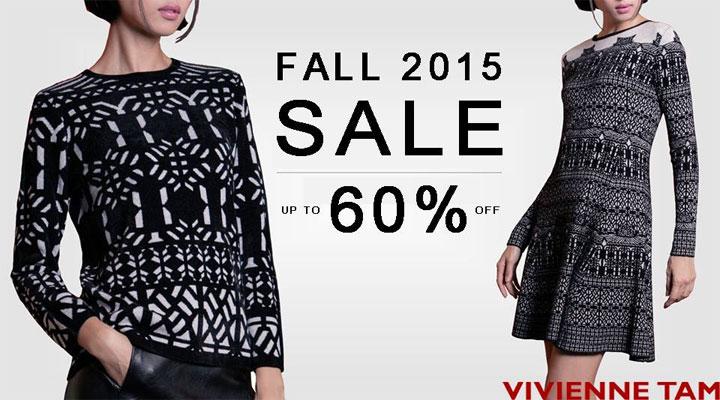 Vivienne Tam Fall 2015 Retail Sale
