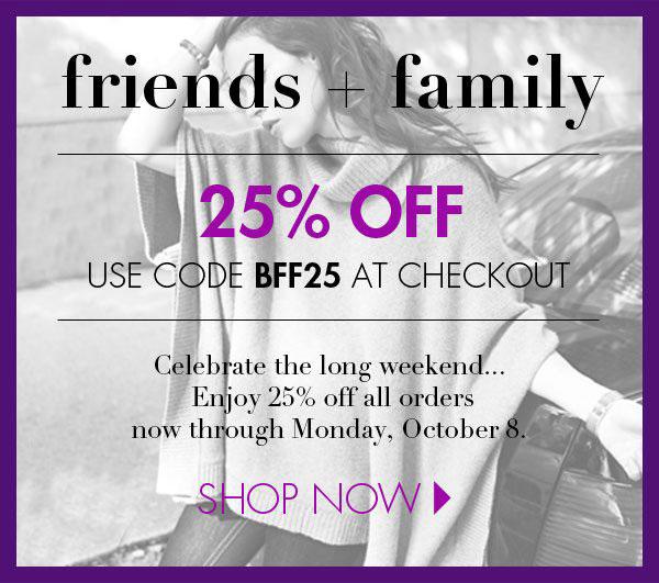 White + Warren Friends & Family Online Sale