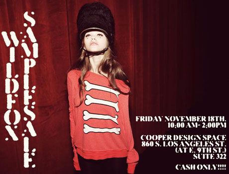 Wildfox Couture Sample Sale