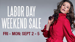 Woodbury Common Premium Outlets Labor Day Weekend Sale