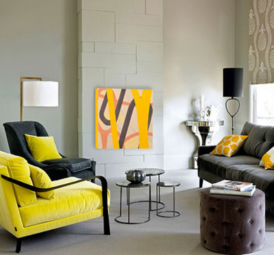 Starting at 9PM at Gilt.com: Trend Alert - Yellow and Gray