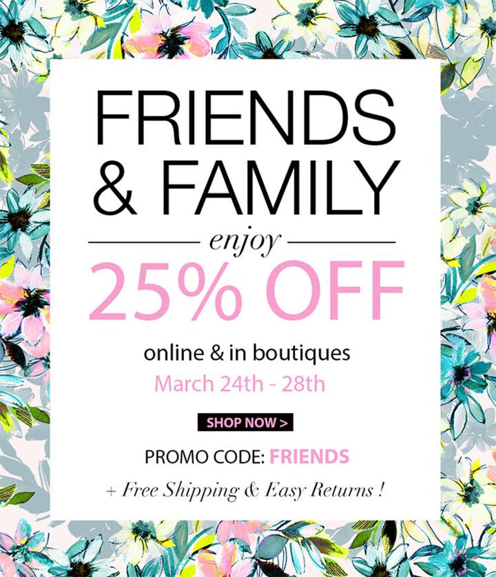 Yumi Kim Friends & Family Sale