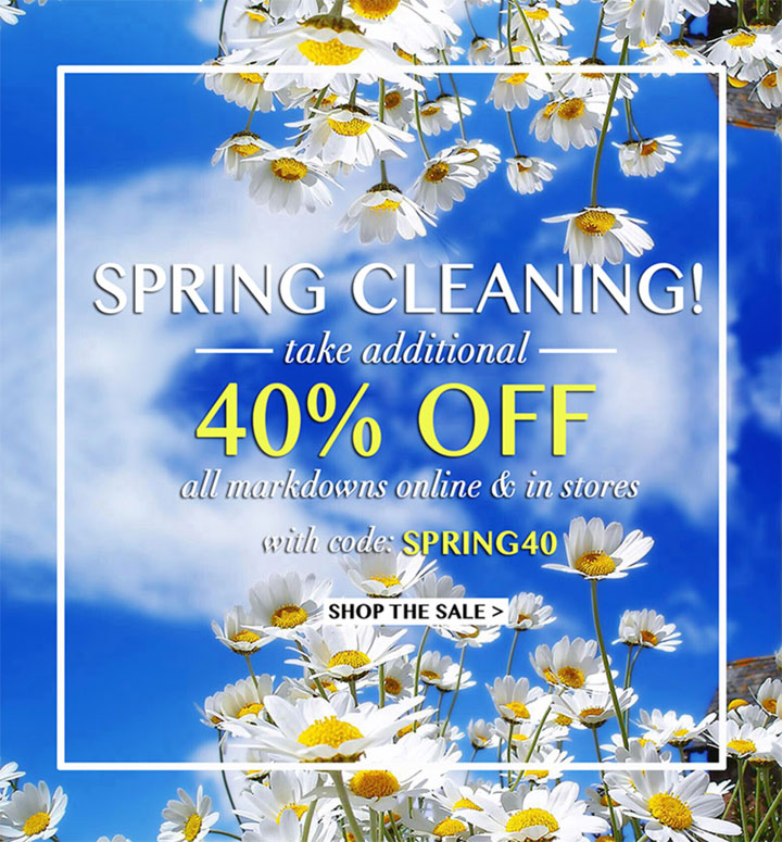 Yumi Kim Spring Cleaning Sale