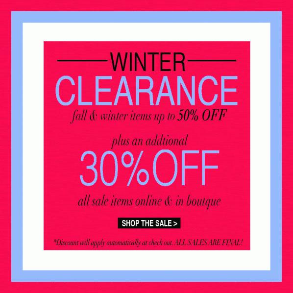 Yumi Kim Winter Clearance Sale