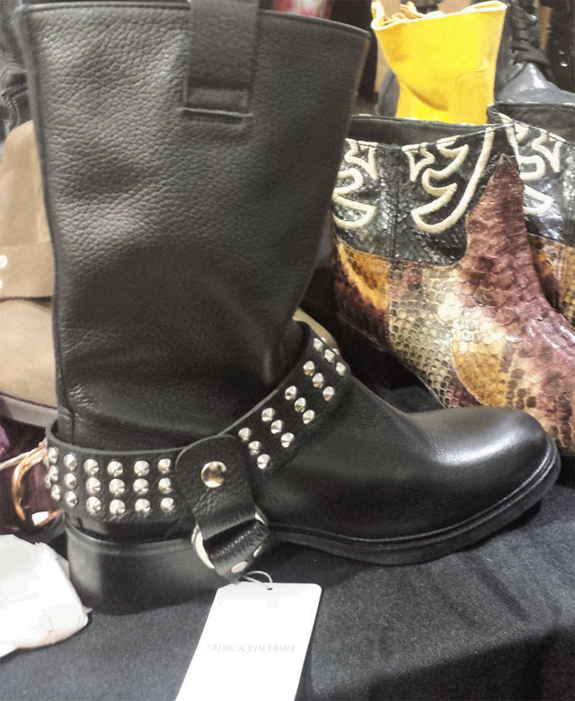 Boots for $220; flats, sandals and stilettos for $110 at Zadig & Voltaire Sample Sale