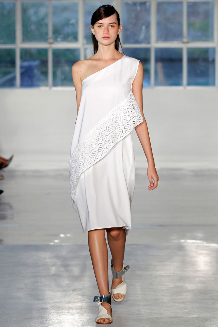 Zero + Maria Cornejo Spiral Dress in Block Lace: $325 (orig. $1,595)