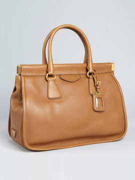 Prada Leather Bag from Bluefly