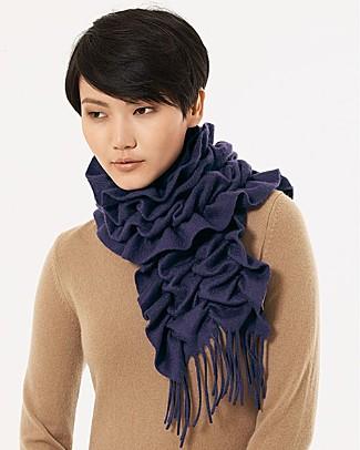 sayami cashmere squiggle scarf