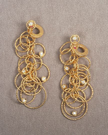 roberto coin classic gold ring earrings vogue city