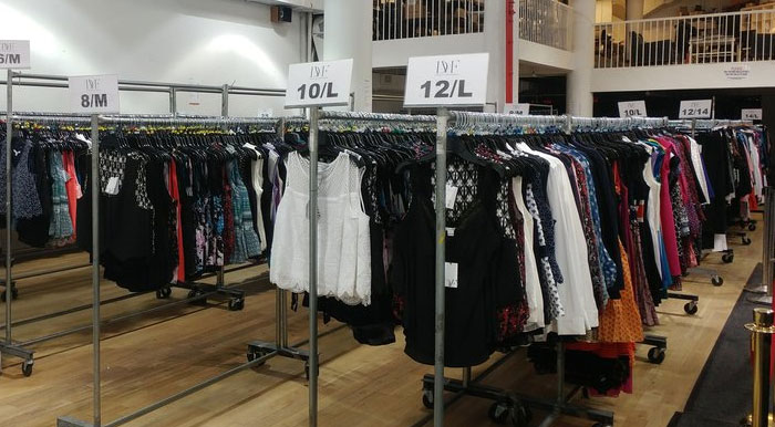 About 260 Sample Sale