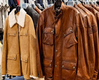 BELSTAFF SAMPLE SALE IN IMAGES
