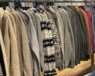 Pics from Inside the Bonobos Sample Sale