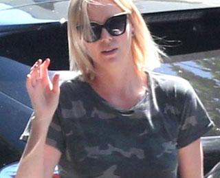 Charlize Theron Wears Ragdoll LA
