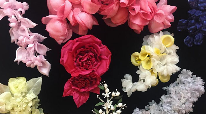 About Custom Fabric Flowers by M&S Schmalberg