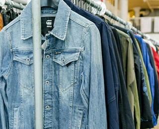 G-STAR RAW SAMPLE SALE IN IMAGES